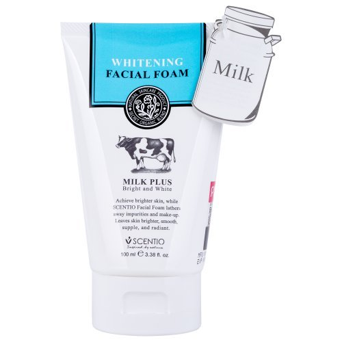 Scentio leche Plus Blanqueamiento Q10espuma Facial