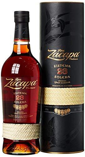 Zacapa 23 Ron Centenario Sistema Solera Rum - Super premium rum with soft and warm notes - 70cl