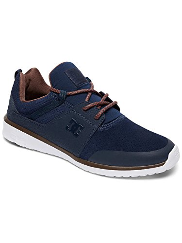DC Shoes HEATHROW PRESTI M SHOE, Sneakers basses homme Bleu - Navy/Dk Chocolate