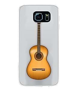 Fuson Designer Back Case Cover for Samsung Galaxy S6 G920I :: Samsung Galaxy S6 G9200 G9208 G9208/Ss G9209 G920A G920F G920Fd G920S G920T (Music Strings Rock Lennon Elvis Presley )