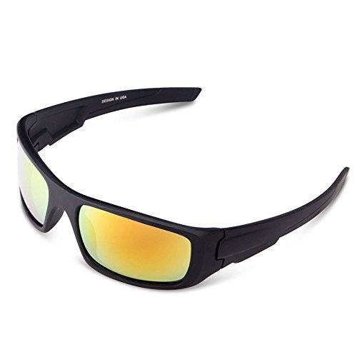 Herren und Damen Sonnenbrillen Polarisiert Unisex Brille Überbrille für Brillenträger Fit-over (F)