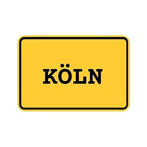 JOllify Aufkleber - KÖLN - Farbe: Design: Ortsschild