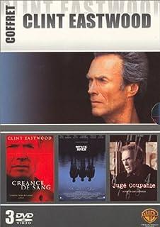 Coffret Clint Eastwood 3 DVD : Mystic River / Créance de sang / Jugé coupable
