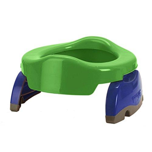 Potette plus - Vasino e riduttore per toilette, da viaggio, Colori Assortiti