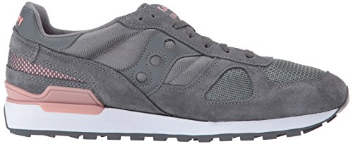 Saucony Shadow Original, Sneakers Basses Femme Noir (Charcoal)