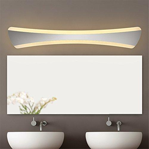 Ante el espejo LED Luz Anti-Fog impermeable y cuartos de baño, apliques de luz del espejo retrovisor minimalista moderno contenedor de luz LED de luz/diámetro de 42cm.