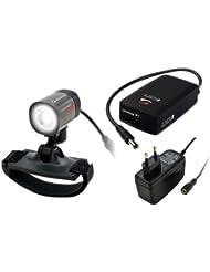 LED-Lampe Sigma Karma Evo Pro-X-Set Karma Evo+Iion+Ladegerät+Helmhalter