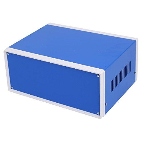 sourcing map 250mm x 190mm x 110mm Boîtier raccordement Projet électronique boîte Bleu