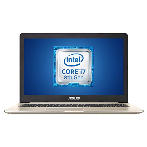 "ASUS Vivobook Pro N580GD-DM054T, Notebook con Monitor 15,6"" FHD No Glare, Intel Core i7-8750H, RAM 16 GB DDR4, HDD da 1TB e 512GB SSD, Scheda Grafica Nvidia GTX1050 da 4GB DDR5, Windows 10"