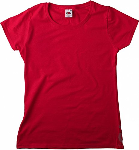New Lady-Fit Valueweight T Red