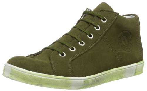 Däumling Alexa 400081M0157 Unisex-Kinder Sneaker Grün (Turino avocado)