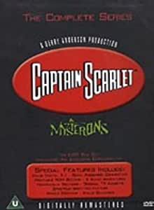 Captain Scarlet And The Mysterons (Box Set)(Six Discs) [Import anglais]