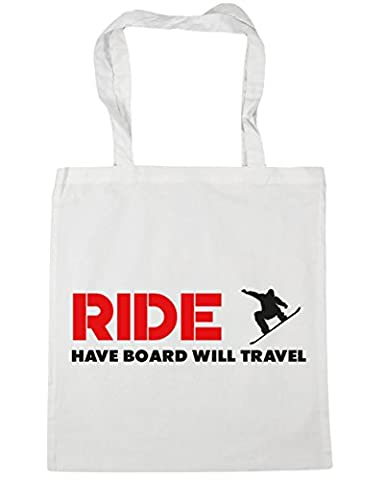 Hippowarehouse RIDE Have Board Will Travel Tote Shopping Gym Beach