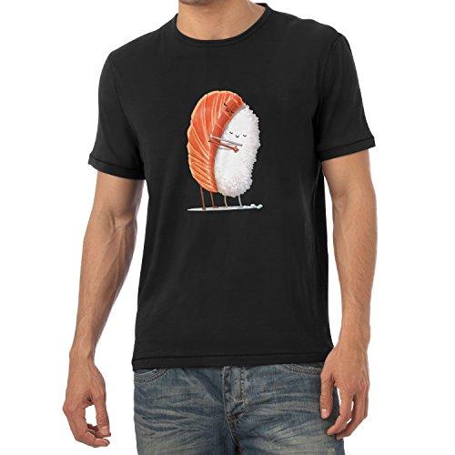 Preisvergleich Produktbild TEXLAB - Sushi Love - Herren T-Shirt, Größe M, schwarz