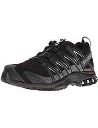 Salomon Homme XA Pro 3D, Black/Magnet/Quiet Shade, Synthétique/Textile, Chaussures de Course à Pied et Trail Running, Taille 44.6