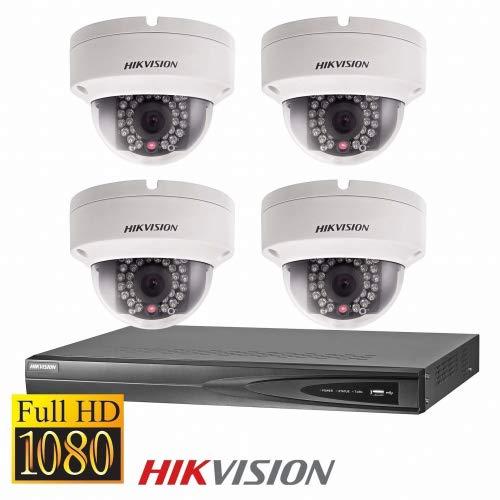 Full HD IP Dome Überwachungskamera Set mit