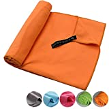 Asciugamano Sportivo Grande Leggero e Assorbente Decocasa Asciugamano in Microfibra
