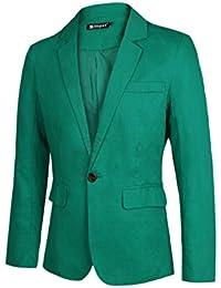 Sourcingmap Allegra K Christmas Men Slim Fit Notched Lapel Single Button Closure Casual Blazer