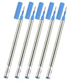 Gullor recharge ajustement Jinhao roller, encre bleue, 0.5mm, ensemble de 10 PCS