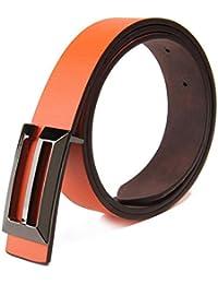 SAMGU Nouveaux Belt hommes ceintures en cuir de la mode vestimentaire décontracté ceinture Casual (longueur 110cm )