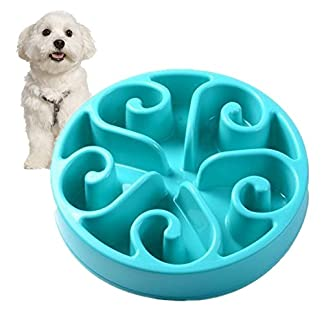 splink Dog Bowl Slow Feed Interactive Fun Feeder Bloat Stop, Prevent Bloating, Anti Choking, Eco-friendly Healthy Eating… 18