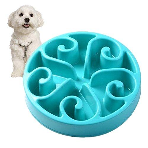 Splink Reisenäpfe Hundenapf Katzennapf, Anti Schling für die langsame Fütterung, Interaktive Napf, Umweltfreundlicher, langlebiger, ungiftiger Hundenapf, Professionelles Blume Design