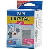 APl Rena Accessoire pour Aquariophilie Crystal 20 Boite de 6 Doses