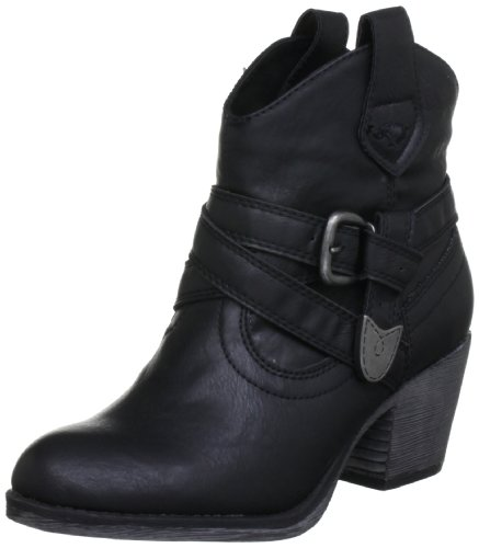 Rocket Dog Satire, Boots femme Noir (Black)
