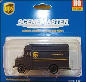 Walthers Corn Silverstone 949-14001UPS lieferwagen plástico Maqueta de, Modelo Ferrocarril Accesorios, Hobby, de construcción