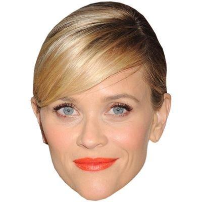 Celebrity Cutouts Reese Witherspoon Maske aus Karton