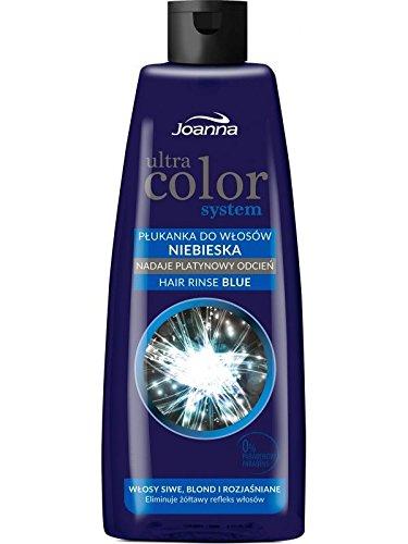 ULTRA COLOR SYSTEM Blau Haarspülung, Anti Gelb Silberweiß 150 ml -