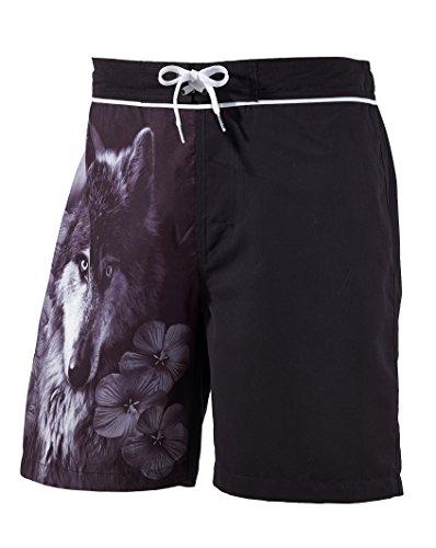 Beco Magical Mystery Trip les maillots de bain Short pour homme noir