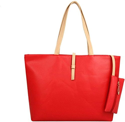 koson-man-classic-fashion-faux-leather-large-tote-bags-with-coin-walletred