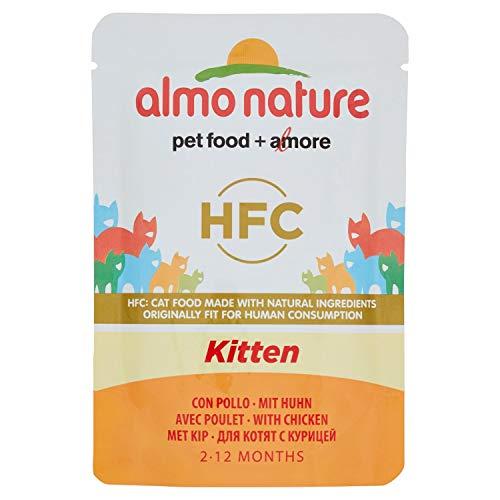 ALMO NATURE Busta Cuisine Kitten Alimenti Gatto Umido Premium