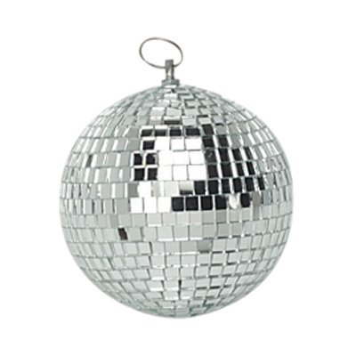 "4"" 100mm Soundlab Mini Mirror Ball Ideal For DJ Disco Halloween Party G007AA"