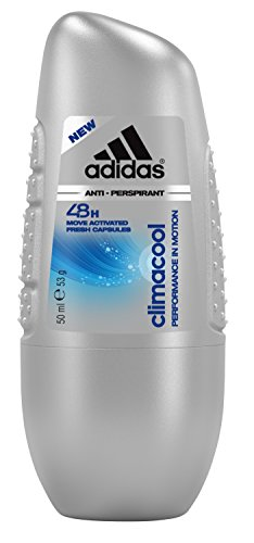 Adidas climacool Herren, Anti-Perspirant Deo Roll-On, 50 ml (Anti Wirkstoff Perspirant)