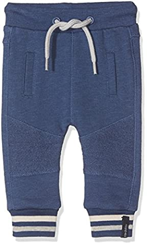 Noppies B Pant Sweat Curved Gonars, Pantalon Bébé Garçon, Blau (Medium Blue C145), 9 Mois