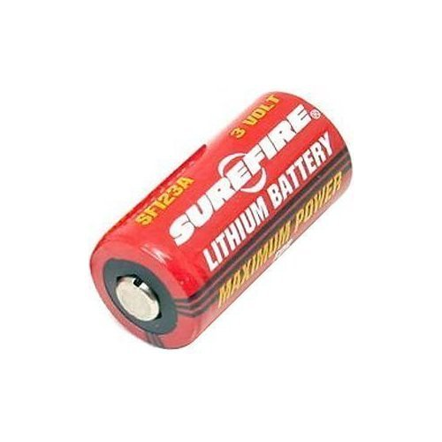 Surefire SF123A 123A 3-Volt Lithium Batteries 8 Pack Surefire Batterie
