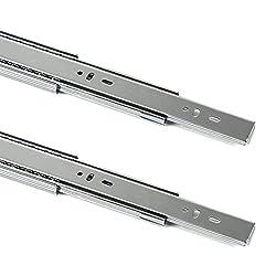 2 St/ück 1 Paar SO-TECH/® Vollausz/üge mit SoftClosing H 35 L 350 mm 30 Kg Tragkraft F/ührungsschiene Schiene