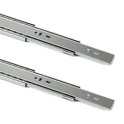 SOTECH 1 Paar Vollauszüge KV2-45-H45-L450-SC mit SoftClosing Höhe 45 mm, Länge 450 mm, Schubladen Führung belastbar bis 45 Kg