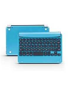 Newniu(TM) M9 Aluminum Wireless Bluetooth Keyboard Case Cover Stand for Apple iPad mini - Blue