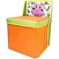 Tumama - Caja de almacenamiento para guardar libros y ropa, para niños, niñas, dormitorio