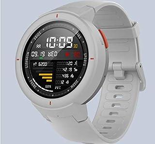 Xiaomi Amazfit Verge color Blanco - (Smartwatch Fitness)- Reloj Deportivo - Sensor Frecuencia Cardíaca - IP68 - Reproduce Música desde Móvil - Blanco (Versión internacional) iOS-Android (B07L5FNW77)   Amazon Products