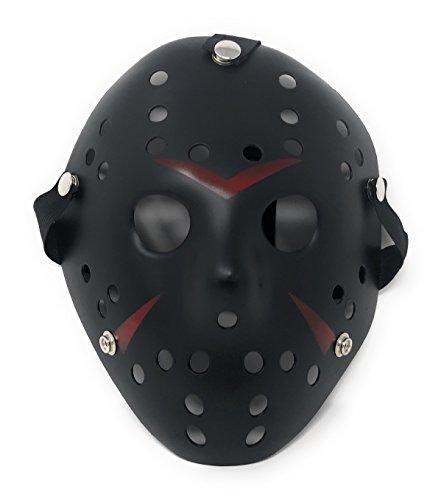 Ultra Scwarz Jason Masken Kostüm Freddy Halloween Freitag der 13 Hockey Erwachsene Elastisches Band Qualität Gesichtsmaske Cosplay Horror