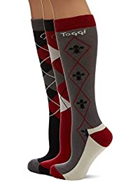Toggi Ladies Socks Chestermere 3 Pack - Black