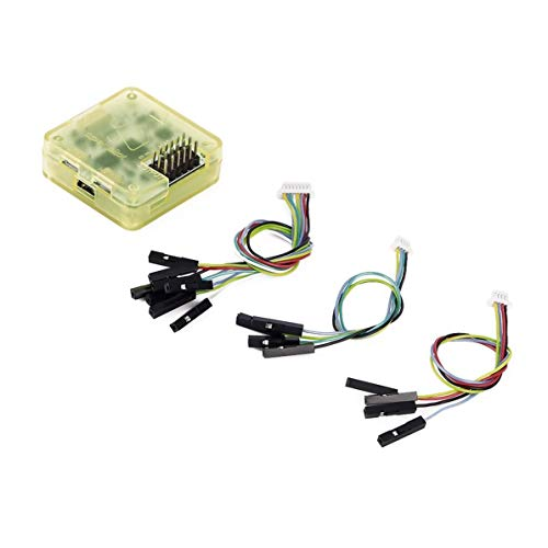 DoMoment CC3D Flight Controller Open Pilot 32-Bit-Prozessor mit Gehäuse gerade Pin für QAV250 280 RD290 Mini Quadcopter Mutilcopter
