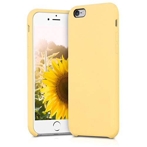 kwmobile Apple iPhone 6 / 6S Hülle - Handyhülle für Apple iPhone 6 / 6S - Handy Case in Gelb matt
