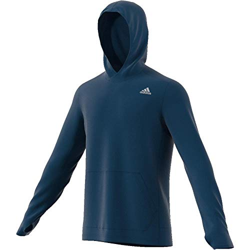 adidas Herren OWN The Run HD Sweatshirt, Legend Marine, M Running Sweatshirt
