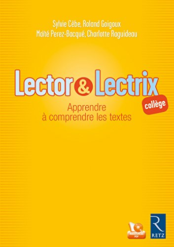 Lector & Lectrix (Fichier + CD-Rom) PDF Books