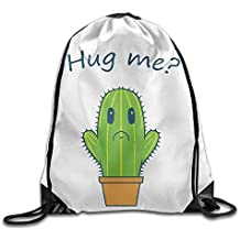 Dutch ars Cactus Hug Me Im Sad Cool - Mochila con cordón
